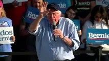 Bernie Sanders speaks at voter rally in Bakersfield