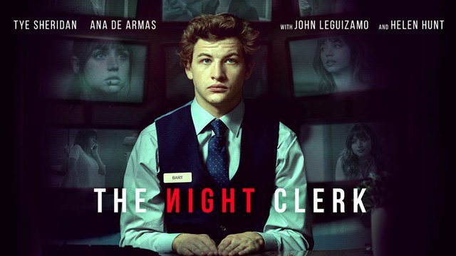 The Night Clerk movie clip with Tye Sheridan and Ana de Armas