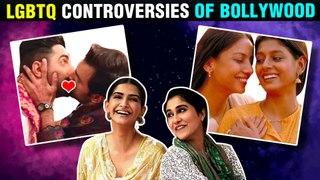 Sonam Kapoor, Ayushmann, Shabana Azmi | LGBTQ Controversies Of Bollywood | Fire, Aligarh