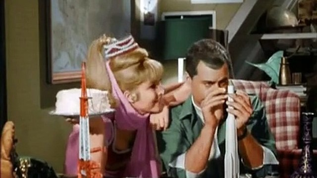 "I Dream of Jeannie season 1 episode 8 ""The Americanization of Jeannie"""