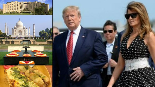 Namaste Trump : Trump India Visit Just 36 Hours, Here Is The Schedule