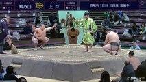 Masunoyama vs Kamito - Hatsu 2020, Sandanme - Day 7