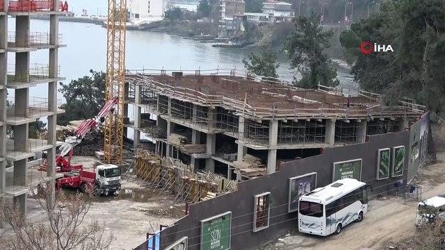 Cumhurbaşkanı Erdoğan'ın sorduğu o gökdelenlerin yıkımı 12 gündür sürüyor