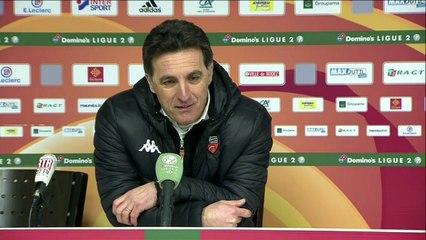La réaction de Christophe Pelissier après Rodez - FC Lorient (0-1) 19-20