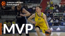 Turkish Airlines EuroLeague Regular Season Round 25 MVP: Martin Hermannsson, ALBA Berlin