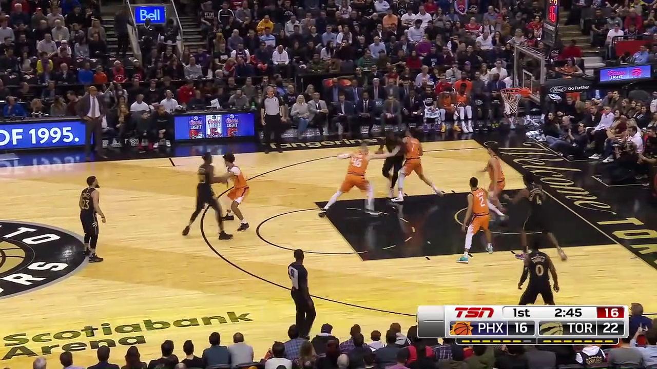Phoenix Suns 101 - 118 Toronto Raptors