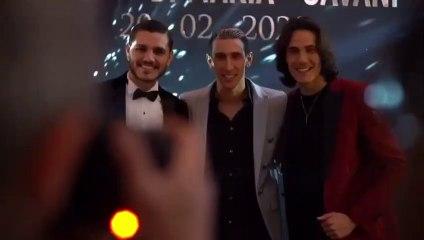 Cavani dévoile une vidéo de sa folle soirée d'anniversaire