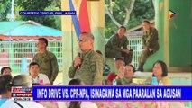 Info drive vs CPP-NPA, isinagawa sa mga paaralan sa Agusan