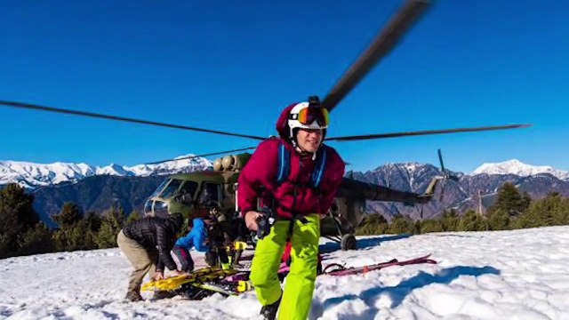 A week long Heliski expedition, joint venture of  Afiniti & ISPR culminated  at Shogran