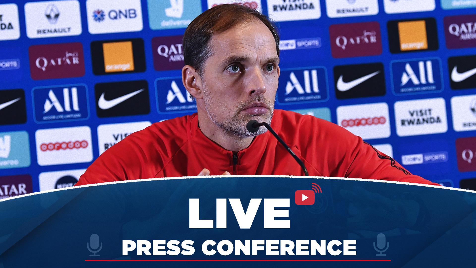 Replay : Conférence de presse de Thomas Tuchel et Marquinhos 2019-2020