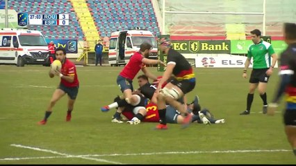 REPLAY ROMANIA / SPAIN - RUGBY EUROPE CHAMPIONSHIP 2020
