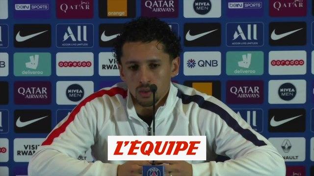 Marquinhos « Thiago Silva ? Je veux qu'il reste » - Foot - L1 - PSG