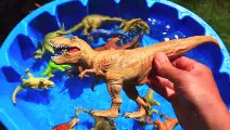 Jurassic World Dinosaurs for kids, Dinosaur Learn Names and Sounds