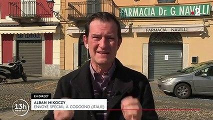Covid-19 en Italie : beaucoup d'inquiétudes après deux morts