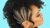 Weave in rings to take your hairstyle up a notch