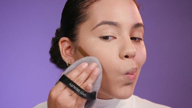 How Tati Westbrook's Blendiful puffs compare to a makeup sponge