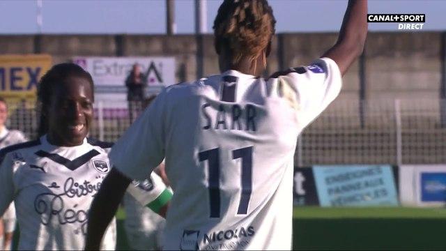 D'un lob parfait, Sarr inscrit le 3ème but bordelais