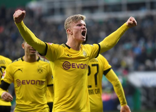 Dortmund tranquille grâce à Zagadou et Haaland