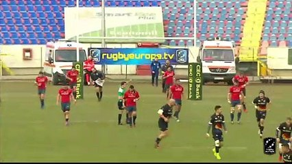 HIGHLIGHTS - ROMANIA / SPAIN - RUGBY EUROPE CHAMPIONSHIP 2020 - BOTOANIA
