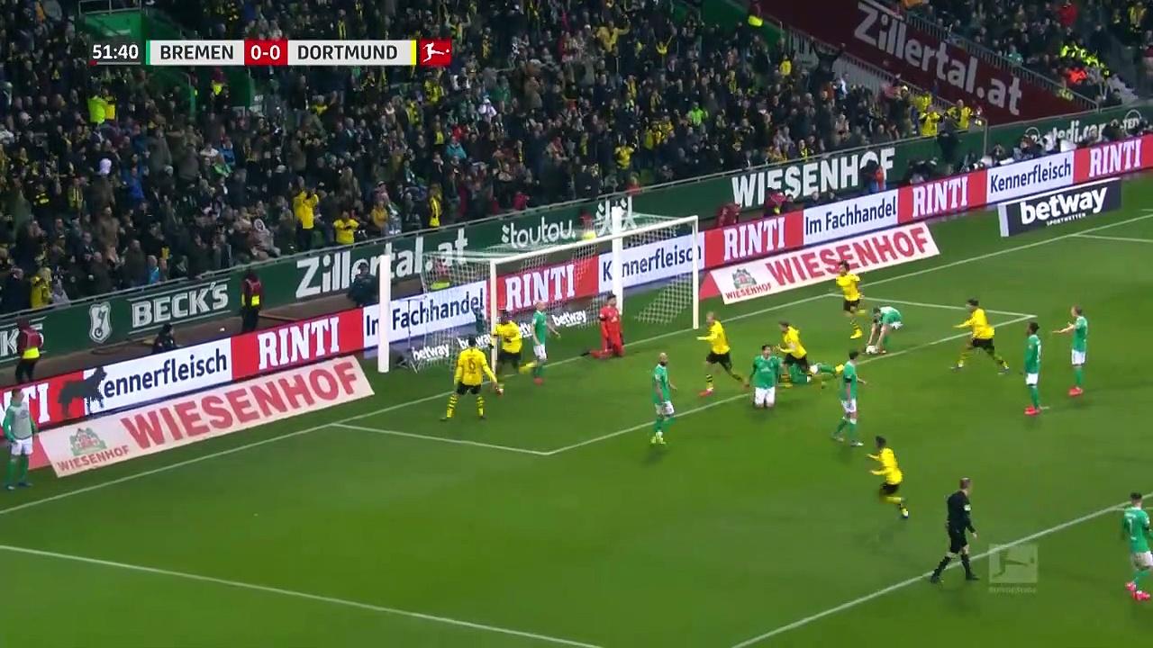 Werder Bremen - Borussia Dortmund (0-2) - Maç Özeti - Bundesliga 2019/20