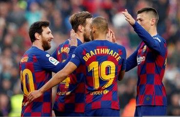 Liga : Un quadruplé de Messi met le Barça en tête