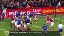 Rugby : le XV de France héroïque à Cardiff