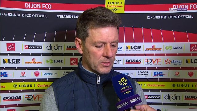 "Dijon - Jobart : ""Ca va finir par payer"""