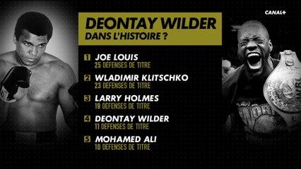 Deontay Wilder dans l'histoire ?