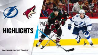 Arizona Coyotes vs. Tampa Bay Lightning - Game Highlights
