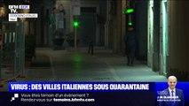 """Coronavirus en Italie: plusieurs villes en quarantaine, """"toutes les rues sont vides"""""""