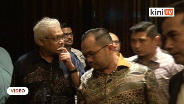 Hamzah Bersatu sertai penyokong Azmin di PJ, kem Azmin bakal tinggalkan PKR?