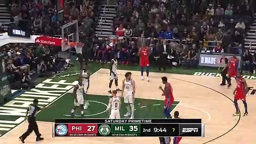 Philadelphia 76ers 98 - 119 Milwaukee Bucks