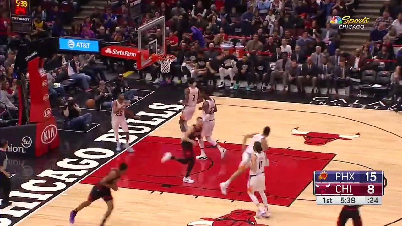 Phoenix Suns 112 - 104 Chicago Bulls