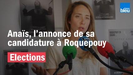 L'annonce de la candidature d'Anaïs aux municipales à Roquepouy dans les Landes