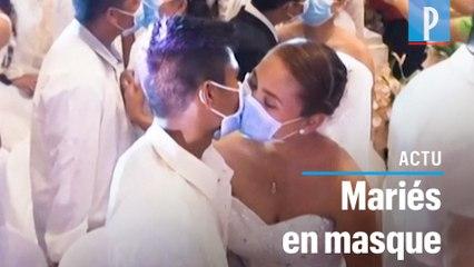 Coronavirus: ils se marient en masse dans la crainte de la maladie aux Philippines