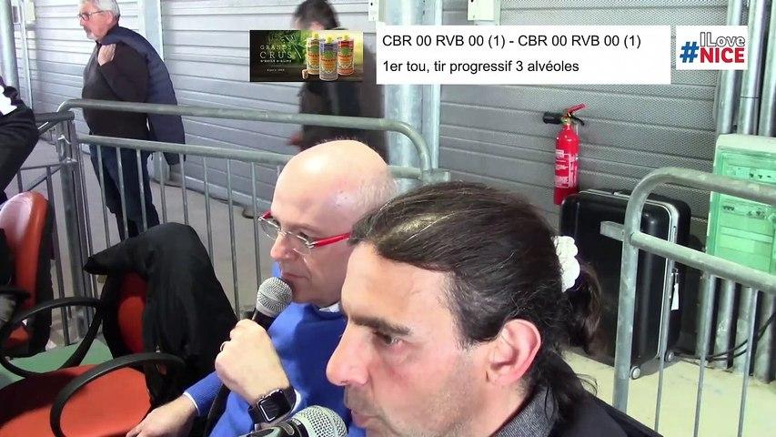 Premier tour, tir progressif, France Clubs N1, demi-finale retour, Club Bouliste du Rocher contre Rives-Bièvre, 2019-2020