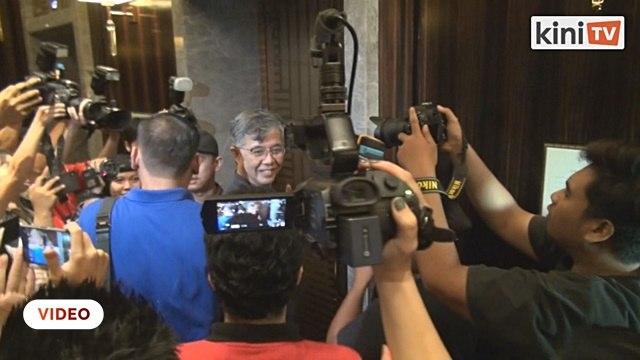 Naib Presiden PKR, Tian Chua tiba di Hotel Sheraton