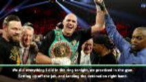 Switching trainers vital to Fury success