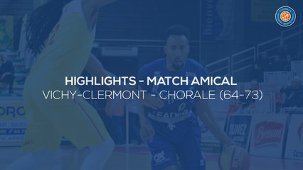 2019/20 Highlights JAVCM - Chorale (64-73, amical)