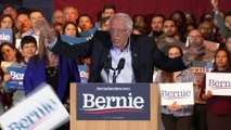 """Bernie Sanders veut """"gagner dans tout le pays"""" après sa victoire dans le Nevada"""