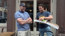 Pizza Review Classic with Heavyweight Champ Tyson Fury