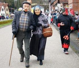La cavalcade de carnaval de Mothern en février 2020