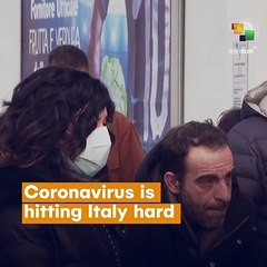 Coronavirus Hits Italy Hard