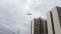 [SBFZ Spotting]Airbus A321 PT-MXH na final antes de pousar em Fortaleza vindo do Recife