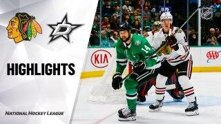 Dallas Stars vs. Chicago Blackhawks - Game Highlights