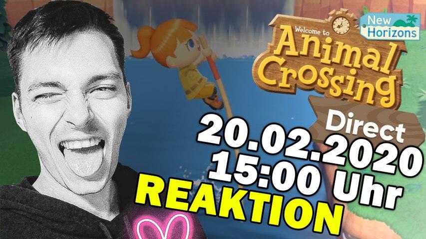 Animal Crossing New Horizons REAKTION!