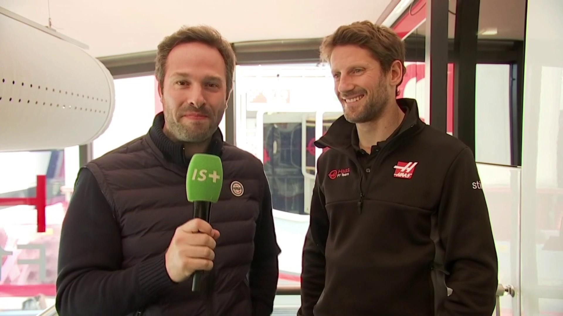 """Romain Grosjean : """"On a bien travaillé"""""""