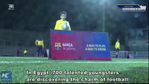 Barca Academy in Egypt, place to learn magic of football