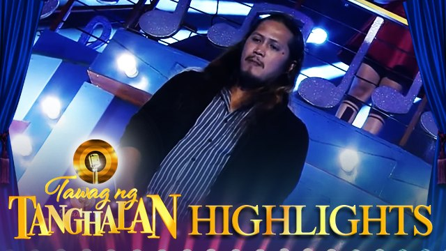 Emmar Cabilogan steals the golden microphone from Shane Ambor | Tawag ng Tanghalan