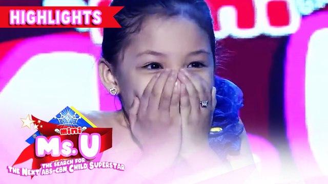 Sophia Jaro wins as Mini Miss U of the day! | It's Showtime Mini Miss U